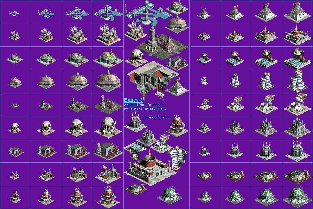 Sid Meier's Alpha Centauri: My Custom Factions - Art ...