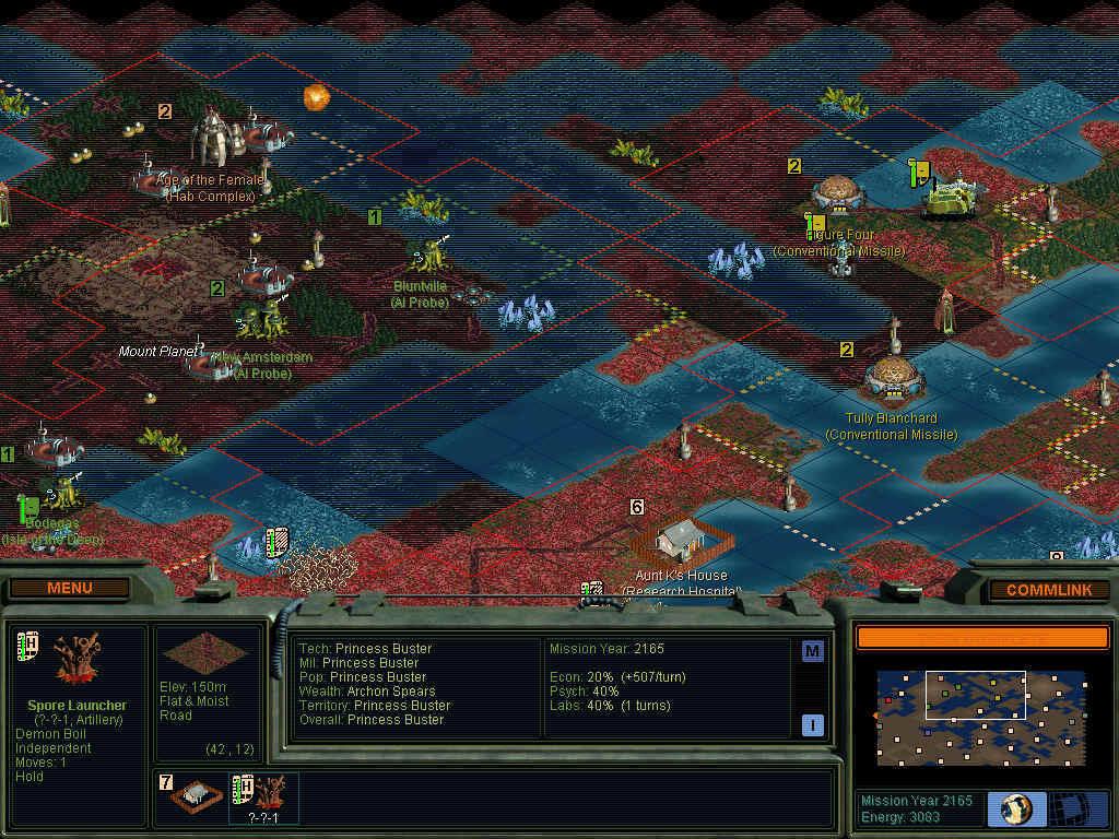 Sid Meier's Alpha Centauri: My Custom Factions